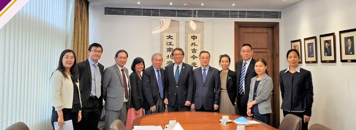 Delegation of Beijing-Hong Kong Talent Exchange Center Visits CUHK